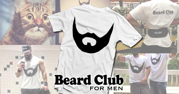 Beard Club for Men Classic T-shirt beard club shirt
