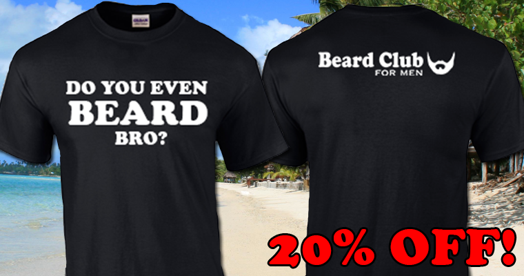 Do You Even Beard Bro Shirt from Beard Club for Men